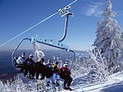 Skifahren im Bayerischne Wald